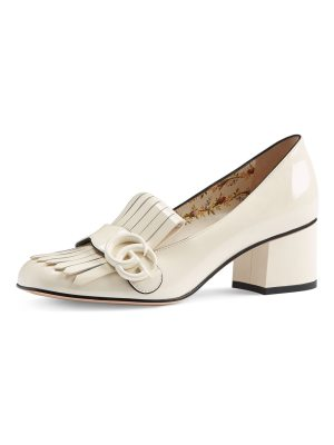 Gucci Marmont Patent Loafer Pump