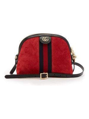 Gucci Ophidia suede cross-body bag