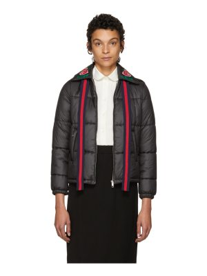 Gucci Quilted Embroidered Jacket