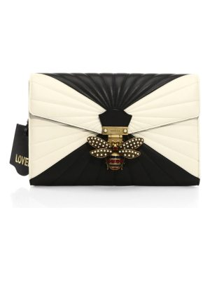 Gucci quilted leather clutch
