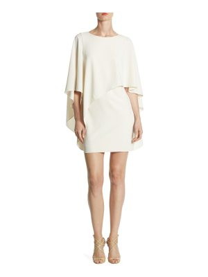 Halston flowy boatneck dress