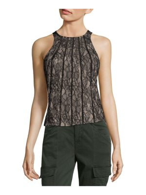 Haute Hippie Floral Lace Top