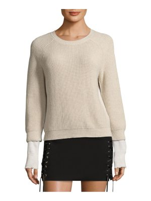 Helmut Lang classic pullover sweater