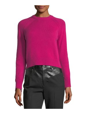 Helmut Lang Crewneck Long-Sleeve Cashmere Sweater