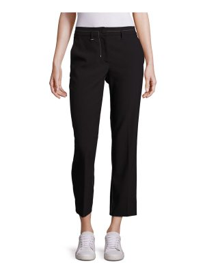 Helmut Lang Cropped Straight-Leg Pants