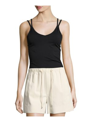 Helmut Lang Double Strap Seamless Tank Top