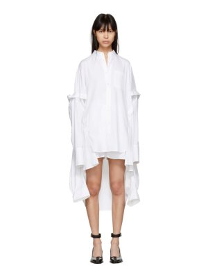 Helmut Lang Poncho Shirt Dress