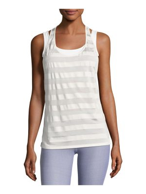 Heroine Sport Striped Racerback Athletic Tank Top