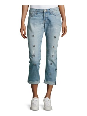 Hudson Riley Cropped Relaxed Straight Leg