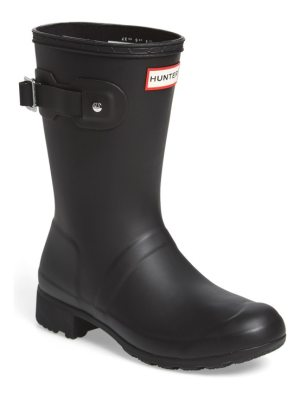 Hunter original tour short packable rain boot