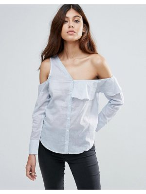 Influence Asymmetric One Shoulder Top