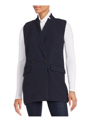 IRO Altey Solid Double-Breasted Vest