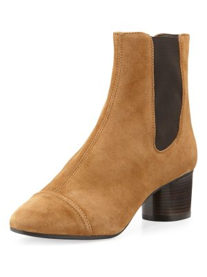 Isabel Marant Danae Suede 50mm Chelsea Boot