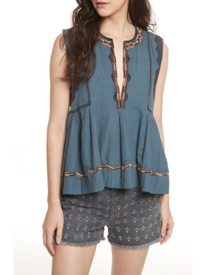 Etoile Isabel Marant barney embroidered top