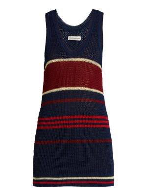 Etoile Isabel Marant Dully striped knit tank top