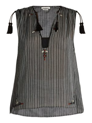 Etoile Isabel Marant Judith striped cotton top
