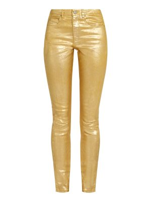 Etoile Isabel Marant High-rise skinny-fit cotton-blend jeans