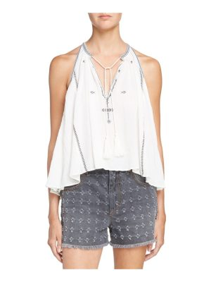 Etoile Isabel Marant mysen embroidered cotton top