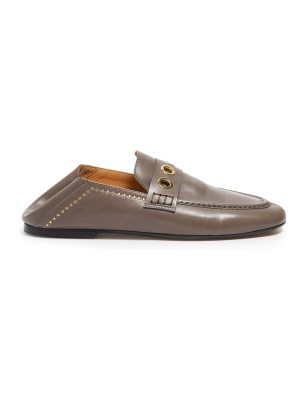 Isabel Marant Fosten collapsible-heel leather loafers