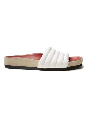 Isabel Marant Hellea quilted-leather slides