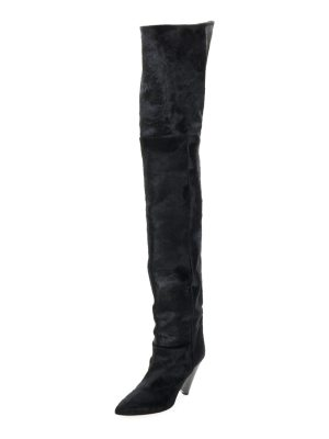 Isabel Marant Lostynn Over-The-Knee Fur Boot