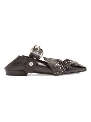 Isabel Marant Pradly collapsible-heel point-toe leather flats