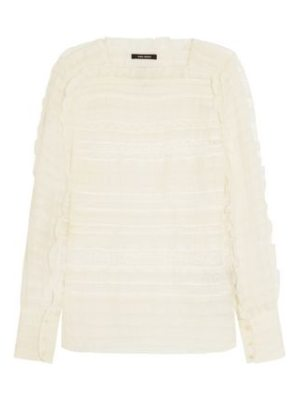 Isabel Marant crocheted silk and linen