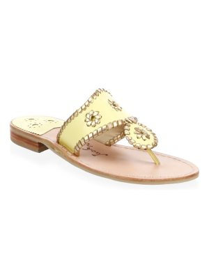 Jack Rogers hollis leather thong sandals