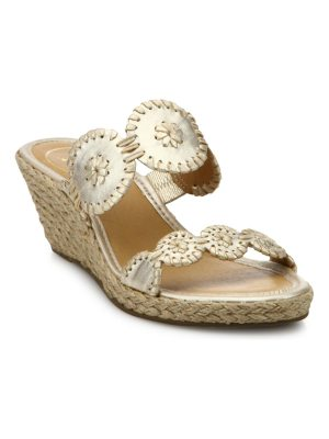 Jack Rogers maci whipstitched leather sandals