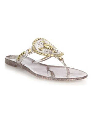 Jack Rogers sparkle georgica jelly sandals