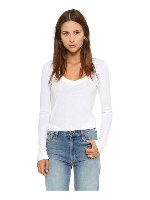 James Perse long sleeve v neck tee