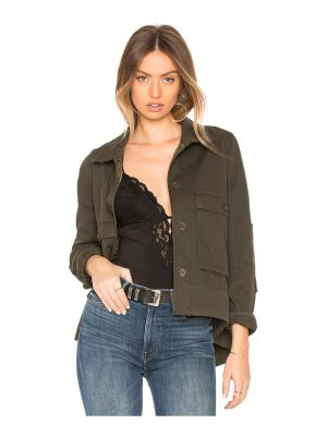 James Perse Utility Trapeze Jacket