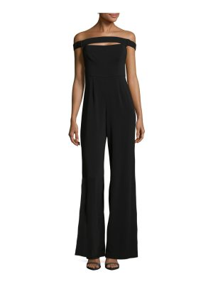 Jay Godfrey Guy Off-The-Shoulder Jumpsuit