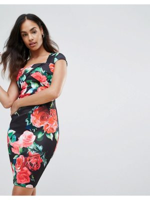 Jessica Wright Floral Bodycon Dress
