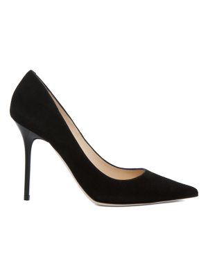 Jimmy Choo Abel Pointed Suede Pumps