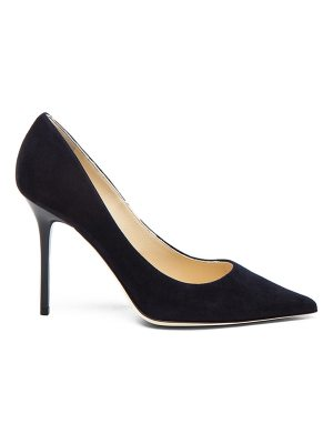 Jimmy Choo Abel Suede Pointed Pumps