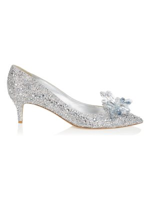 Jimmy Choo ALLURE Crystal Covered Pointy Toe Pumps