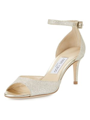 Jimmy Choo Annie Glitter 65mm Sandals