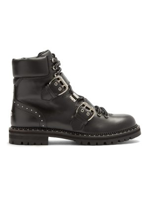 Jimmy Choo Breeze stud-embellished leather ankle boots