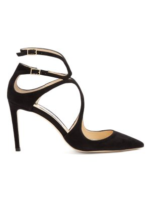 Jimmy Choo Lancer 85mm suede pumps