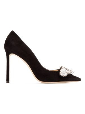 Jimmy Choo Marvel 100mm suede pumps