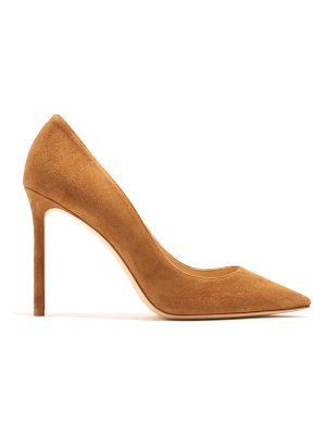 Jimmy Choo Romy 100mm suede pumps