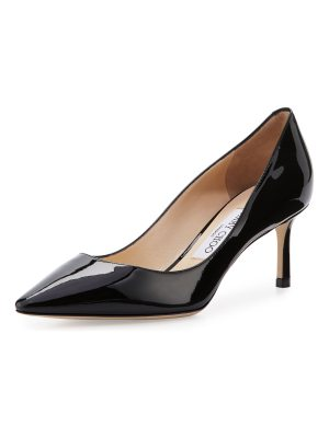 Jimmy Choo Romy Patent Pointed-Toe 60mm Pump