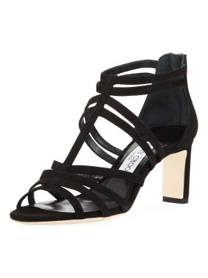 Jimmy Choo Selina Suede Strappy 65mm Sandal