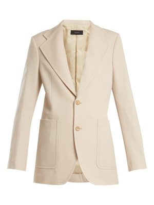 Joseph Albert single-breasted wool-blend jacket