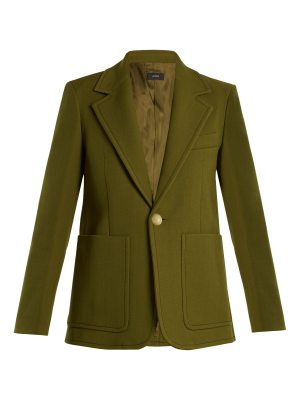 Joseph Annab wool and cotton-blend twill jacket