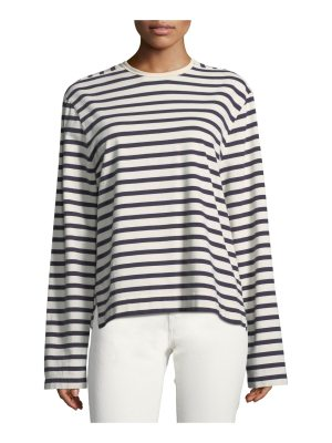 Joseph Striped Long-Sleeve Breton T-Shirt