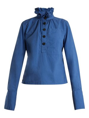 J.W.ANDERSON Ruffled-collar long-sleeved top