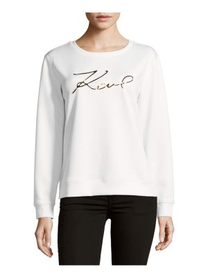 Karl Lagerfeld Paris Signature Sweatshirt