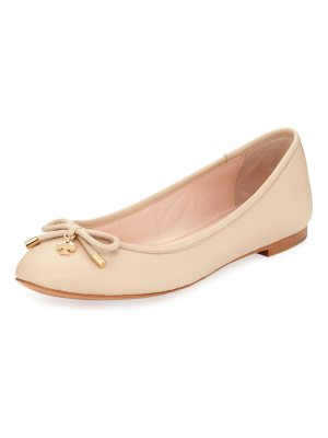 Kate Spade New York willa classic leather Ballet Flats